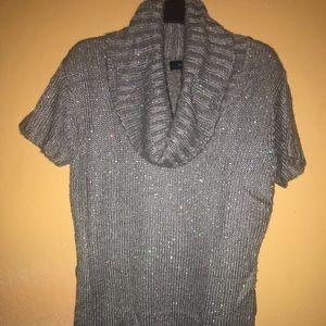 Ashley Stewart Sequins Knit Sweater